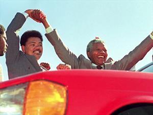 El Clase S hecho especialmente para Nelson Mandela