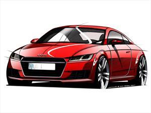 Primeros bocetos del Audi TT 2015