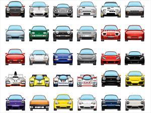 Automoji, los Porsche para los mensajes del iPhone