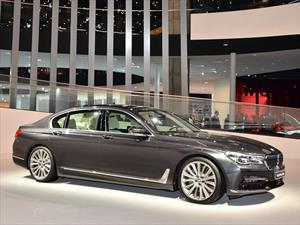 BMW Serie 740E xDrive 2016, equipa un motor de cuatro cilindros