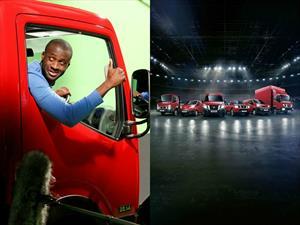 """Video: Nissan y su """"Truckerball"""", fútbol sobre camiones"""