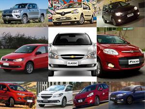 Top 10: Los autos más vendidos de Argentina en marzo de 2016