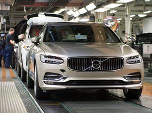 Volvo V90 2017 comienza producción