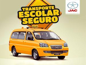 JAC apoya el Transporte Escolar Seguro