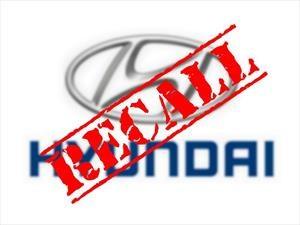 Recall de Hyundai a 598,000 vehículos