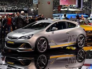 Opel Astra OPC Extreme se presenta