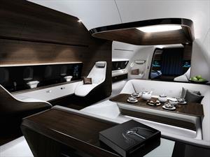 Mercedes-Benz y Lufthansa se unen para diseñar cabinas lujosas para jets