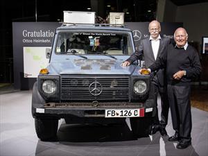 Un Mercedes-Benz Clase G que recorrió el mundo durante 26 años