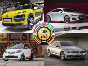 Conoce a los 32 candidatos al Auto del Año 2015