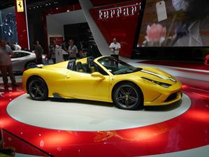 Ferrari 458 Speciale A, el convertible más poderoso en la historia de la marca