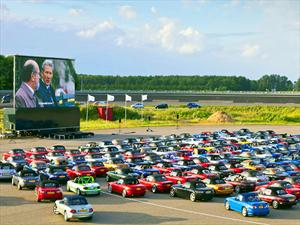 Mazda MX-5: 683 Unidades se reúnen en Holanda