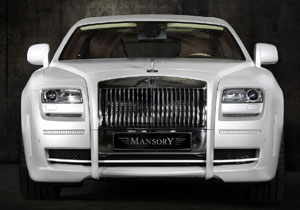 Rolls Royce White Ghost Limited por Mansory
