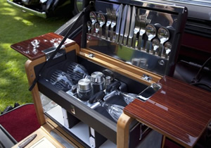 Picnic  al estilo Rolls Royce
