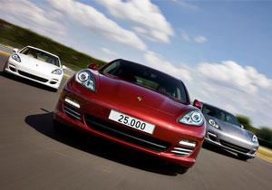 Porsche produce el Panamera número 25,0000