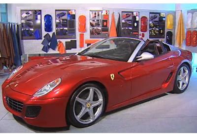 Ferrari 599 SA Aperta: Descubre la nueva joya italiana