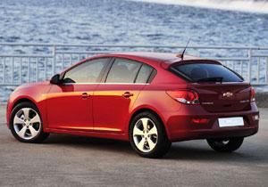 Chevrolet Cruze Hatchback debuta en el Salón de Ginebra
