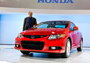 La gama del Honda Civic 2012 se da a conocer en Nueva York