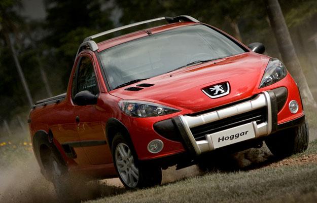 Peugeot Hoggar: La 207 pickup