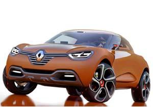 Renault Captur Concept: bien futurista