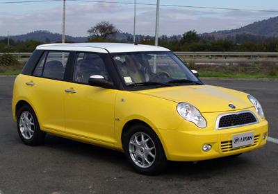 Lifan 320: Llegó a Chile en cuatro versiones