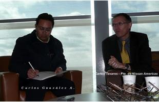Entrevista con el Presidente de Nissan Americas - Carlos Tavares