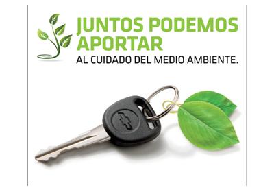 Chevrolet lanzó campaña orientada a cuidar el medioambiente