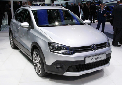 Volkswagen CrossPolo 2011: Juvenil y aventurero