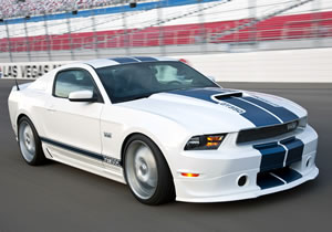 Mustang Shelby GT350 2011 se presenta en Barret - Jackson