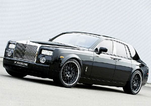 Tuning: Rolls Royce Phantom por Hamann