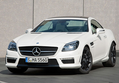 Mercedes-Benz SLK 55 AMG 2012: Belleza deportiva