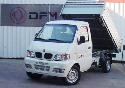 DFM Truck Dumper: Tolva hidr&#225;ulica para microempresarios