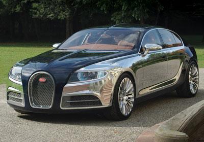 Bugatti 16C Galibier: El sedán más lujoso del mundo