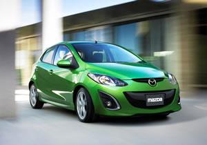 Mazda 2 2011 será el auto a gasolina más eficiente del mundo