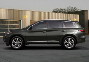Infiniti JX se presenta en Pebble Beach, California