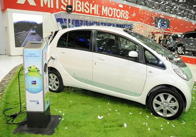 Salón del Automóvil de Santiago 2010: Nacen las electrolineras