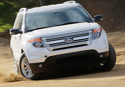 Ford Explorer 2011: Fotografías exclusivas