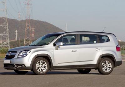 Chevrolet Orlando 2011: Llegará a Chile