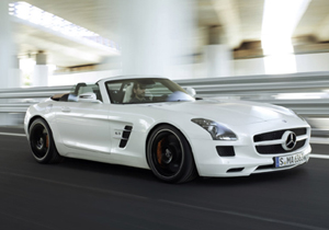 Mercedes-Benz SLS 63 AMG Roadster 2012 se presenta