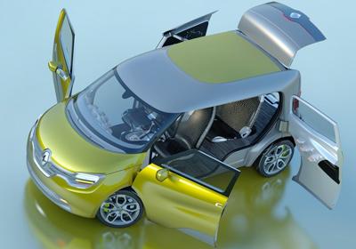 Renault Frendzy Concept: El Utilitario futurista