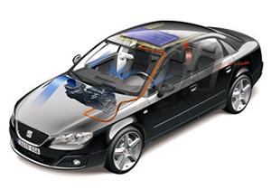 Cargadores solares para auto