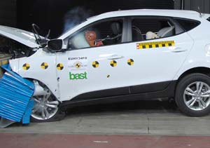 Hyundai New Tucson premiado con 5 estrellas en seguridad