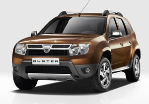 Duster, nuevo SUV de la filial Dacia de Renault
