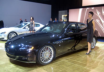 Maserati Quattroporte GT S 