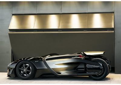 Peugeot EX1 Concept:  Nacido para batir récords