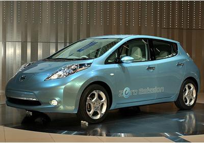 Salón del Automóvil de Santiago 2010: Nissan LEAF
