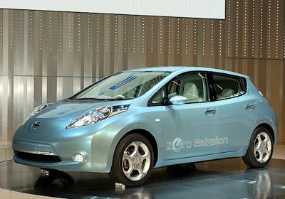 Nissan LEAF: Car of the Year 2011