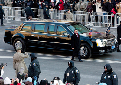El Auto de Obama es el Cadillac One