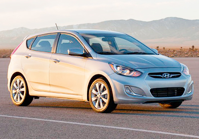 Hyundai Accent Hatchback: Fotografías exclusivas