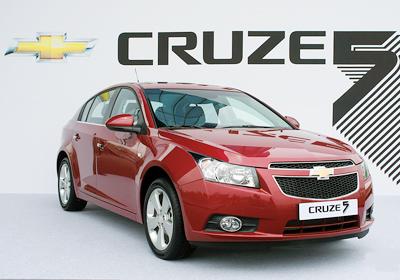 Chevrolet Cruze Hatchback: Imágenes exclusivas