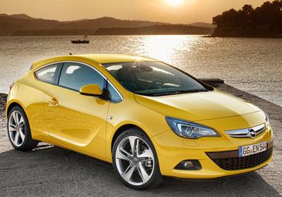 Opel Astra GTC 2012: Primeras imágenes